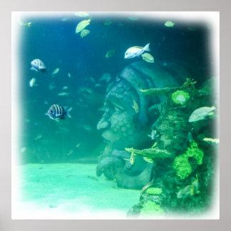 Atlantis unter dem Meer Poster