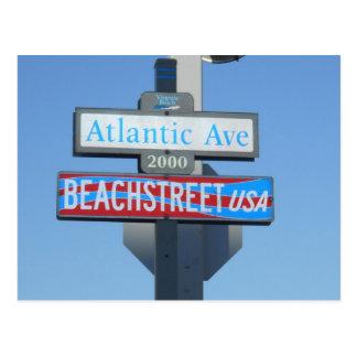 Atlantische Allee, Virginia Beach, Virginia Postkarte