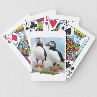 Atlantische Papageientaucher Bicycle Spielkarten