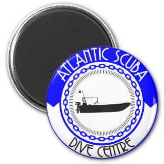 Atlantische Unterwasseratemgerät-Produkte Runder Magnet 5,1 Cm