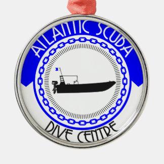 Atlantische Unterwasseratemgerät-Produkte Silbernes Ornament