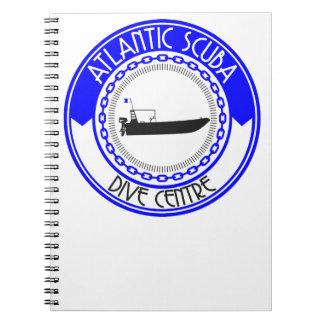 Atlantische Unterwasseratemgerät-Produkte Spiral Notizblock