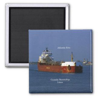 Atlantischer Erie-Magnet Quadratischer Magnet