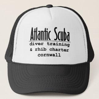 Atlantischer Unterwasseratemgerätdesignergang Truckerkappe
