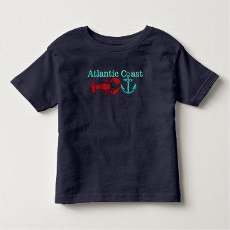 Atlantisches Küste Hummer-Anker-Shirt Kleinkind T-shirt
