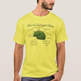 Atlas das Gehirn-lustigen der Geschenke eines T-Shirt