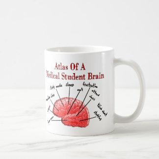 Atlas des Medizinstudent-Gehirns Kaffeetasse