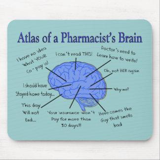 Atlas eines Apothekers Gehirn-Unglaublich witzig Mauspads