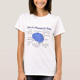 Atlas eines Apothekers Gehirn-Unglaublich witzig T-Shirt