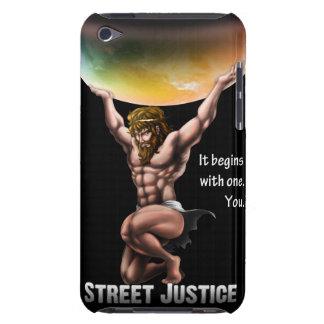 Atlas erobert alle durch Straßen-Gerechtigkeit iPod Touch Case-Mate Hülle