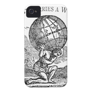 Atlas gezuckt/Schulden-Zitat Case-Mate iPhone 4 Hülle
