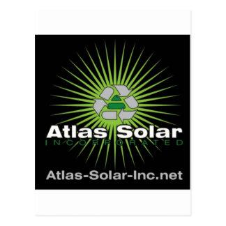 Atlas Solar Inc. Postkarte