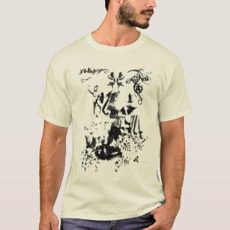 Atlas-und der Tanzenwanne 3 zerstreuter Blick T-Shirt