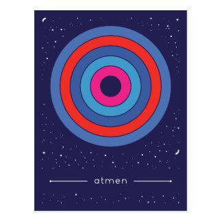 atmen postkarte