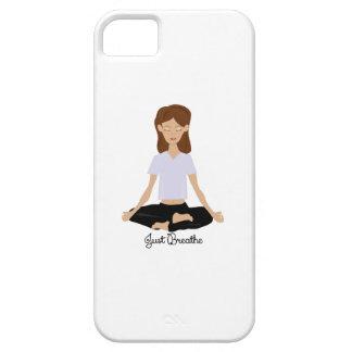 Atmen Sie einfach iPhone 5 Schutzhüllen
