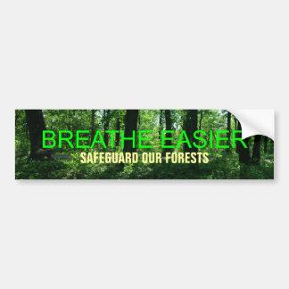 Atmen Sie einfacheres! Autoaufkleber