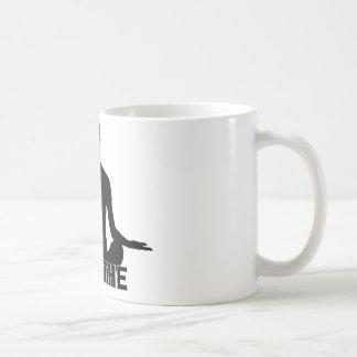 Atmen Sie, entspannen Sie sich, seien Sie ruhig Kaffeetasse