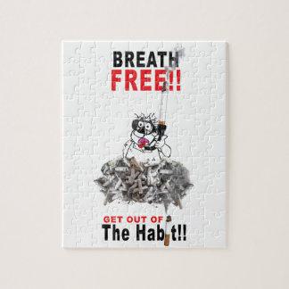 Atmen Sie frei - STOPPEN Sie ZU RAUCHEN Puzzle