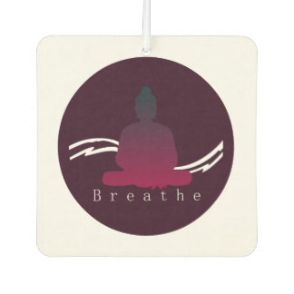 """""""Atmen Sie"""" schönen Buddha Autolufterfrischer"""