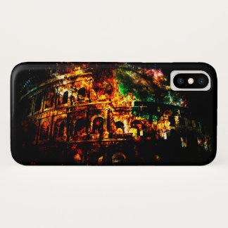 Atmen Sie wieder Träume der römischen Muster iPhone X Hülle