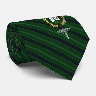 Atmungstherapeut-Gewohnheits-Grün des Krawatten