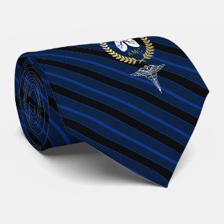 Atmungstherapeut-Gewohnheits-Marine des Bedruckte Krawatte