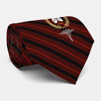 Atmungstherapeut-kundenspezifisches Rot des Personalisierte Krawatte