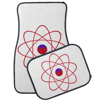 Atom-Auto-Boden-Matten (volles Set) Autofußmatte
