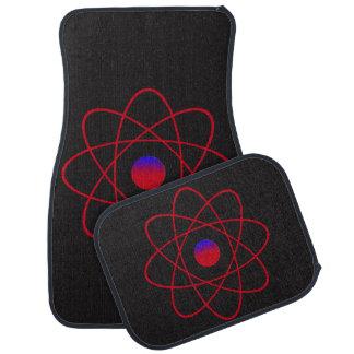 Atom-Auto-Boden-Matten (volles Set) Automatte