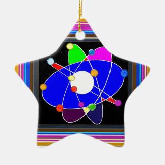 ATOM-Wissenschaft erforschen Studienforschung Keramik Stern-Ornament