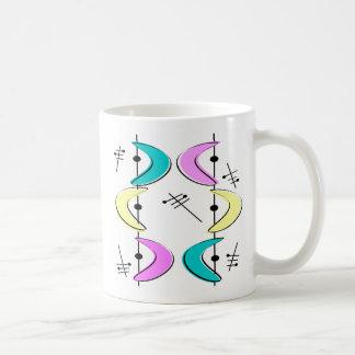 Atomära-Bumerang abstrakt Kaffeetasse
