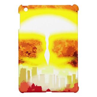 Atombomben-Hitze-Hintergrund iPad Mini Hülle