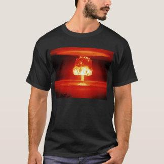 Atombomben-Orange T-Shirt