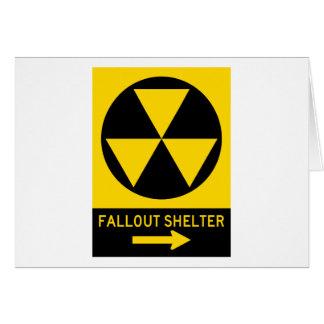 Atombunker-Führer-Landstraßen-Zeichen Karte