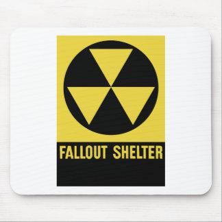 Atombunker-Zeichen Mousepad