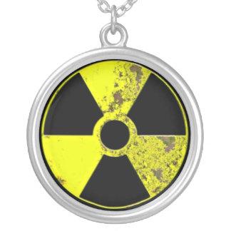 Atomgetrieben Versilberte Kette