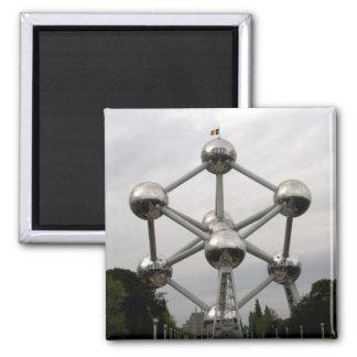 Atomium Quadratischer Magnet