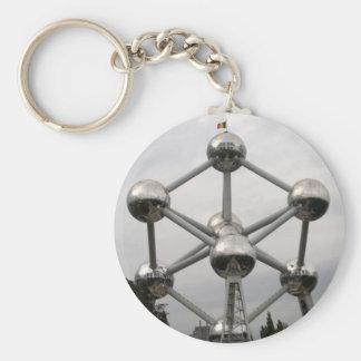 Atomium Standard Runder Schlüsselanhänger