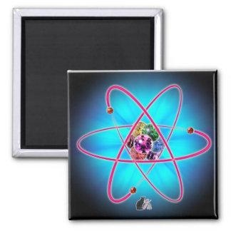 Atomjuwel-Magnet Quadratischer Magnet