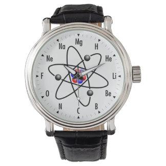 Atomwissenschaft/Chemie Uhren