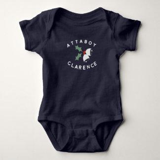 Attaboy Clarence Bell Bodysuit Baby Strampler
