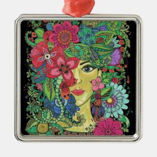 Attraktive Geschenke Silbernes Ornament