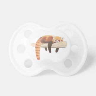 Attrappe des roten Pandas, Baby-Schnuller Schnuller