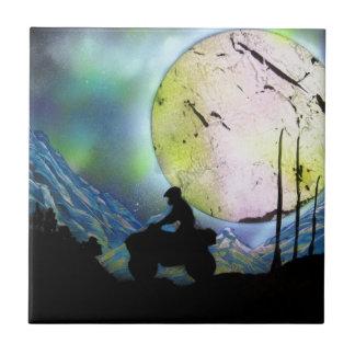 ATV Droschke-Raum-LandschaftsSprühfarbe-Kunst Keramikfliese
