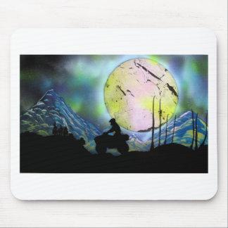 ATV Droschke-Raum-LandschaftsSprühfarbe-Kunst Mousepad