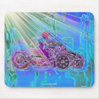 ATV MotorTrike 3-Wheeled Motorrad-Kunst Mousepad