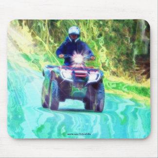 ATV Off-Roading Wochenenden-Aktions-Kunst Mousepad