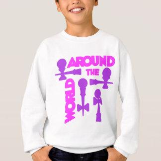 ATW 7 purple2 Sweatshirt