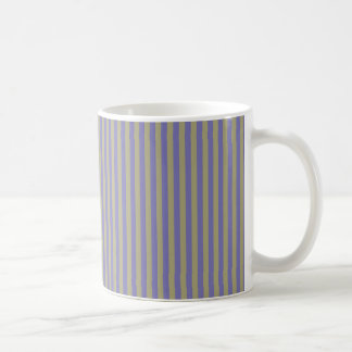Auberginen-Streifen Kaffeetasse