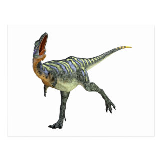 Aucasaurus, der verlassen sich dreht postkarte